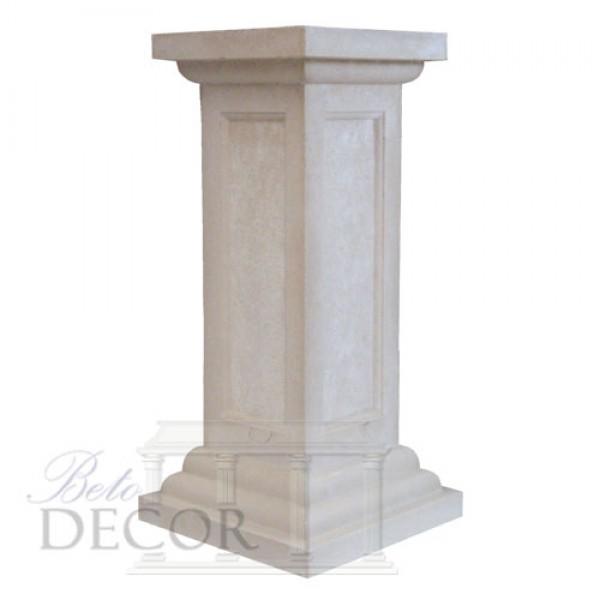 Τετράγωνη κολώνα με ταμπλά σκαπιτσαριστό